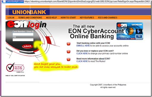 Eon online banking